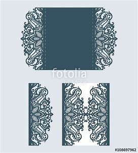 quotlaser cut pattern beautiful laser cut invitation card With laser cut wedding invitations vector free