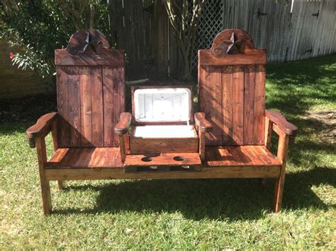 texasoutbackfurniturecom cedar cooler bench