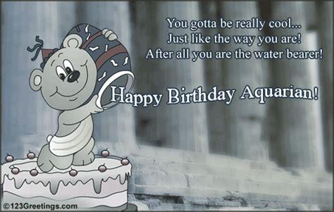 fun aquarius birthday   zodiac ecards greeting cards
