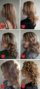 Different Ways To Curlstraighten Hair Hair Pinterest