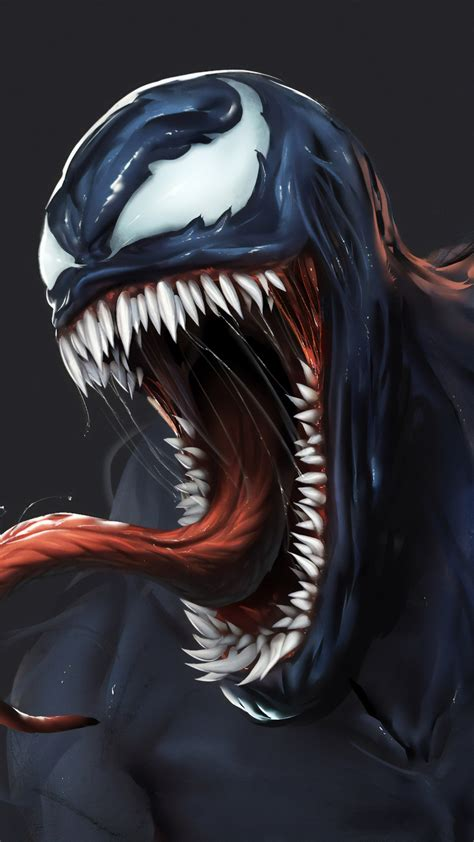 wallpaper venom artwork   movies