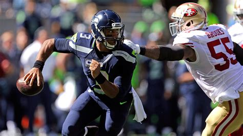 russell wilson injured  seahawks rout  ers