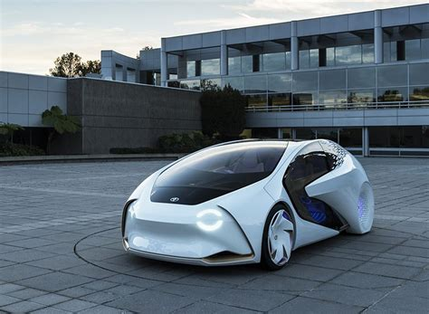toyota concept-i built around the driver vehicle ...