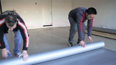 vinyl garage floor photos how to install garage flooring rolls