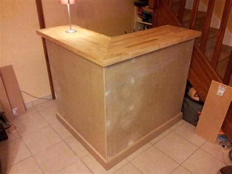 fabriquer un plan de travail cuisine construction d un bar yann segalen diy