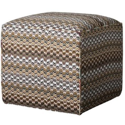 target missoni fabric square pouf m zigzag pattern with