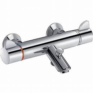 Robinet Thermostatique Bain Douche : mitigeurs thermostatiques de bain douche ~ Melissatoandfro.com Idées de Décoration