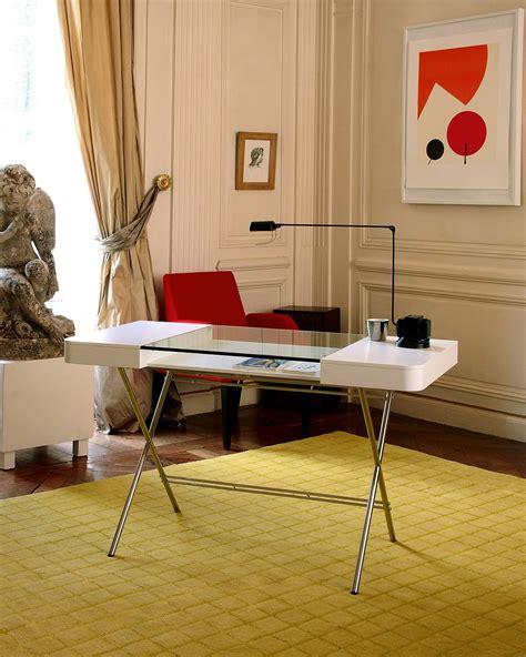 modern desks for home focal point for contemporary home offices cosimo desk