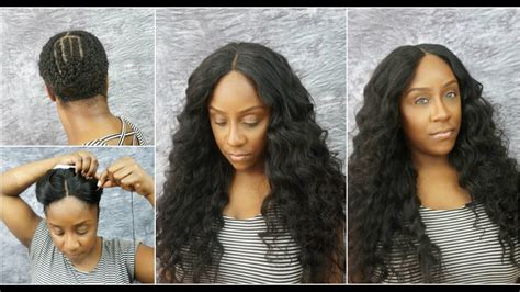 How To Do A Lace Closure Full Sew In Tutorial