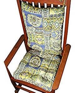porch rocker cushion set zerego blue large size indoor outdoor rocking