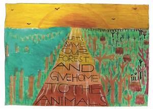 Save Forest Poster | www.pixshark.com - Images Galleries ...