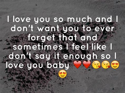 i love u so much babe quotes