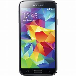 Samsung Galaxy S5 SM-G900H 16GB Smartphone SM-G900H-BLACK B&H
