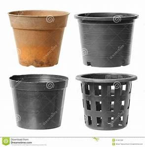 Pot Fleur Plastique : pot de fleurs en plastique photo stock image du plastique ~ Premium-room.com Idées de Décoration