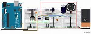 Circuit Diagram For Arduino Based Text To Speech  Tts