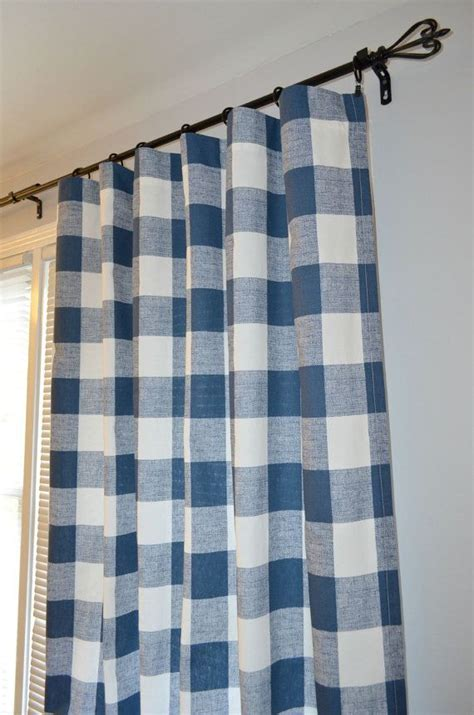 navy buffalo check curtains 17 best ideas about buffalo check curtains on