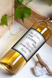 custom wine bottle labels personalized wedding favors With custom wine bottle tags