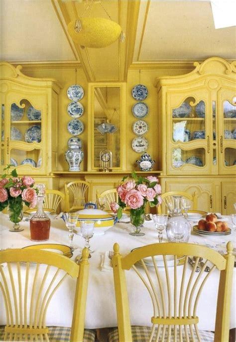 breezy yellow dining room designs rilane