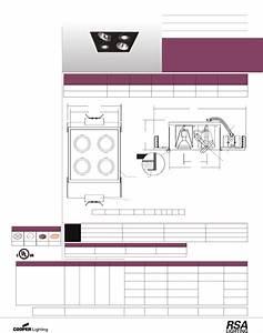 Cooper Lighting Indoor Furnishings Ar7050 User Guide