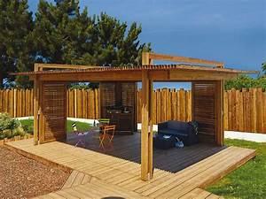 Palissade De Jardin : pergolas en bois photos ~ Melissatoandfro.com Idées de Décoration