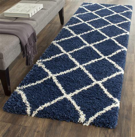 safavieh navy rug navy ivory safavieh hudson shag area rugs sgh281c ebay