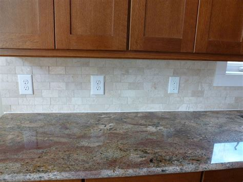 Marble Subway Tile Backsplash Bob And Floras New House