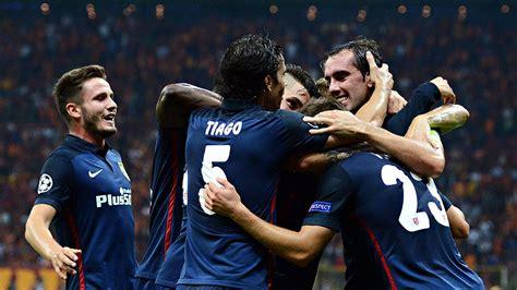 Atletico Madrid surprised Galatasaray early - Diego Simeone