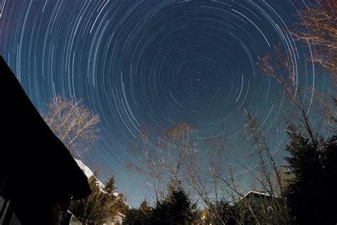 star trail night lapsetop   world   backyard gopro