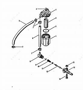 Mercury  Mariner 25xd  Fuel Filter Assembly