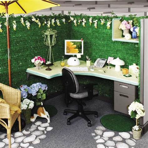 desk decoration themes in office best halloween cubicle decorating ideas cubicle