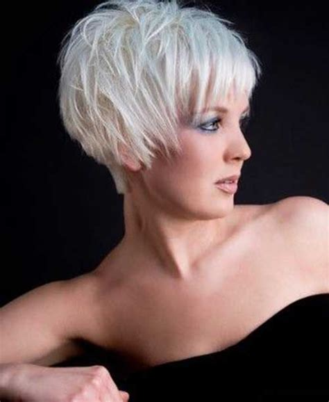 short haircuts for white hair the best short hairstyles