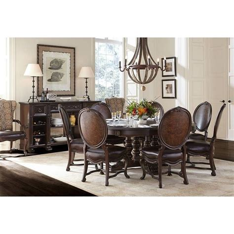 stanley furniture casa d onore dining table in sella