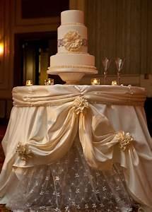 Stylish, Wedding, Cake, Table, Decorations