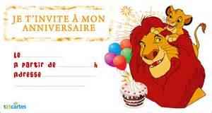 prince baby shower theme invitation anniversaire le roi lion 123 cartes