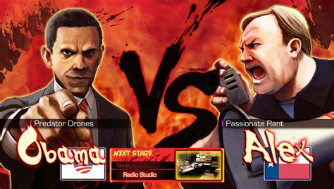 Super Smash Bros Anime Wallpaper Obama Vs Alex Jones By Pazero On Deviantart