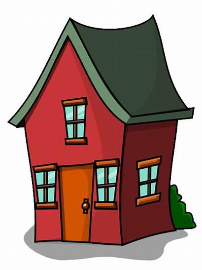 Clip Clipart Houses Cartoon Advertisement