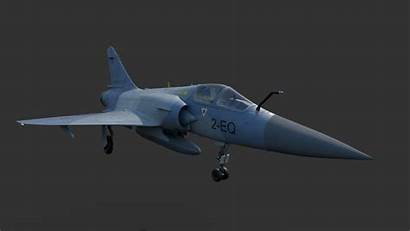 Mirage Fighter Plane 2000 Poly Low Models
