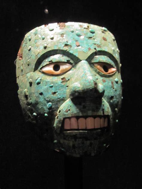 british museum london england aztec mask  world