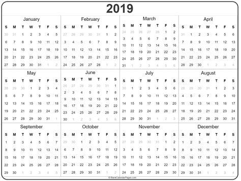 year calendar photo ten printable calendar