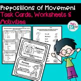 preposition  movement worksheets teaching resources tpt