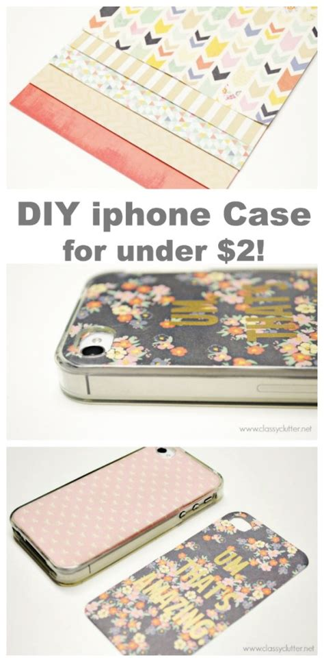 diy iphone cases   classy clutter