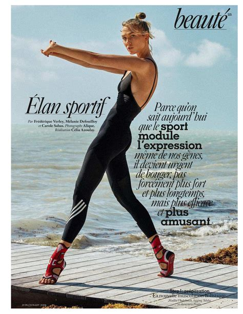 Karlie Kloss Vogue Paris June July Issue