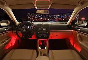 Led Voiture Intérieur : clair de lune int rieur de la voiture led lumi re de voiture 12 v smart mobile app contr le de ~ Maxctalentgroup.com Avis de Voitures