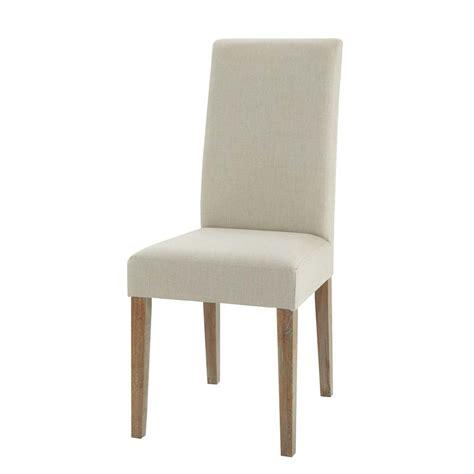 la chaise de bois chaise en et chêne léonie maisons du monde