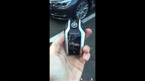 bmw  series smart key youtube
