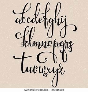 17 bästa idéer om Modern Calligraphy Alphabet på Pinterest ...