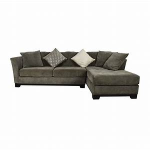 50 off macy39s macy39s gray sectional couch with chaise With macy s sectional sofas