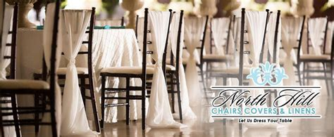 hill chair covers linens wedding event rentals