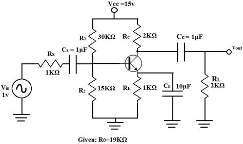Example Transistor Circuit Analysis The Mid