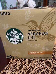Subtle with delicate nuances of soft cocoa and lightly toasted nuts. Starbucks Veranda Blonde Roast 40 Pods Singles K-Cups Coffee Keurig Exp 11/20 611247373361 | eBay